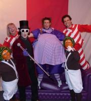 Our Charlie and the Chocolate Factory Show had to add in extra performances at the Lowry's 2015 Easter run - Violet Beauregarde swelled up like a big blueberry!