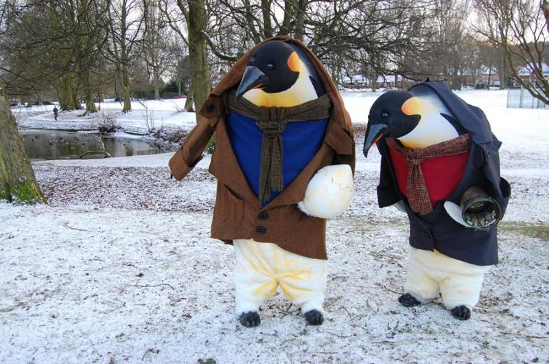 You'll be filled with wonder when you meet these giant black and white gentlemen from the South Pole! Fantastic walkabout penguin performances.