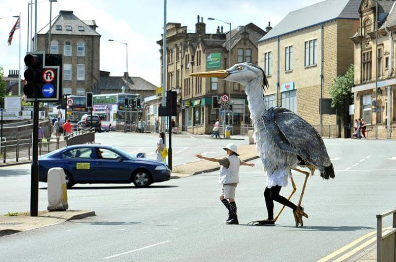 Three days of brilliant street theatre taking over the town - with schools, community groups and local businesses all involved for the Shipley Street Arts Festival.